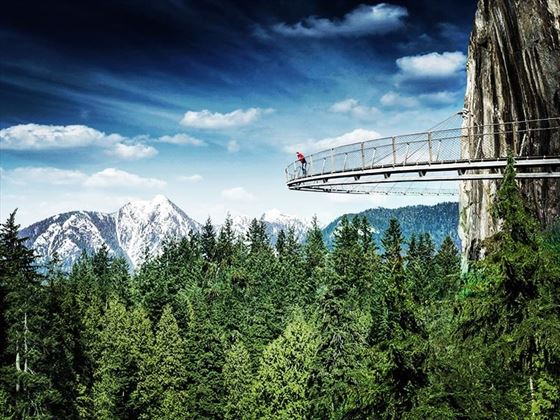 Capilano Suspension Bridge Cliffwalk