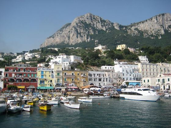The Mediterranean island of Capri