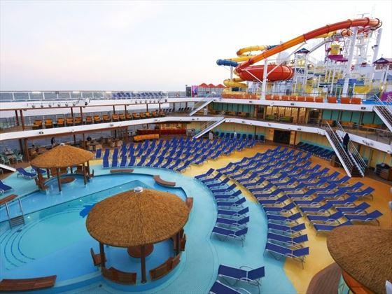Carnival Magic Main Pool