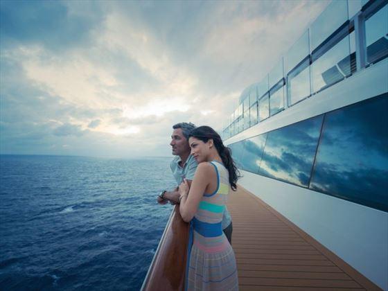 Stroll on deck