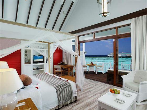 Centara Grand Island Resort & Spa Luxury Sunset Water Villa