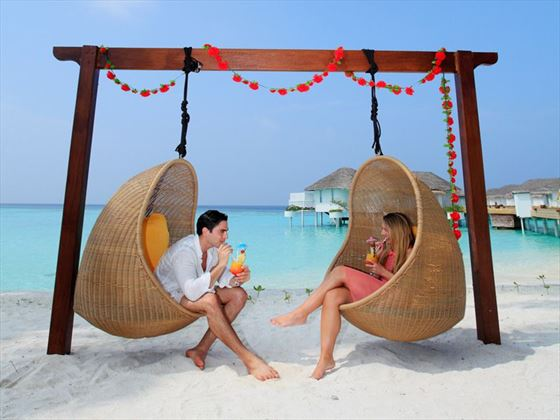 Honeymoon times at Centara Grand Island Resort & Spa