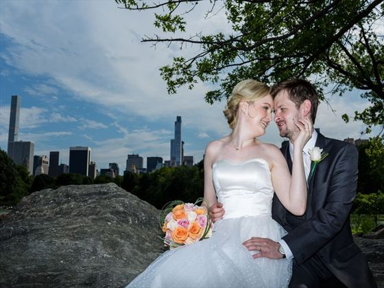 A wedding in beautiful Central Park