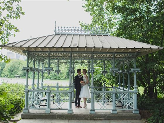 Ladies Pavilion, a real favourite wedding venue