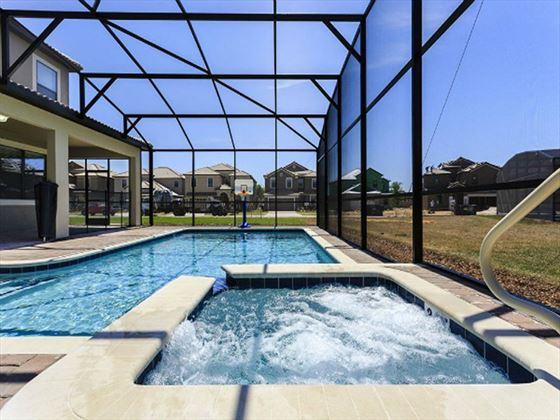 Championsgate Resort Platinum Homes Typical Pool