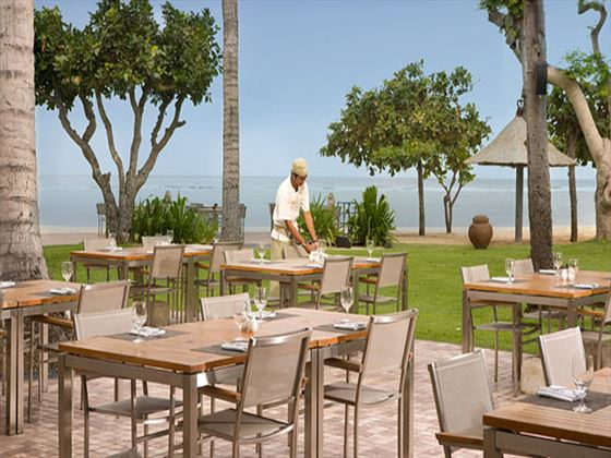 Chess beachfront restaurant at Nusa Dua Beach Hotel