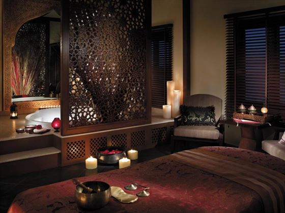 Private treatment villa at CHI, The Spa