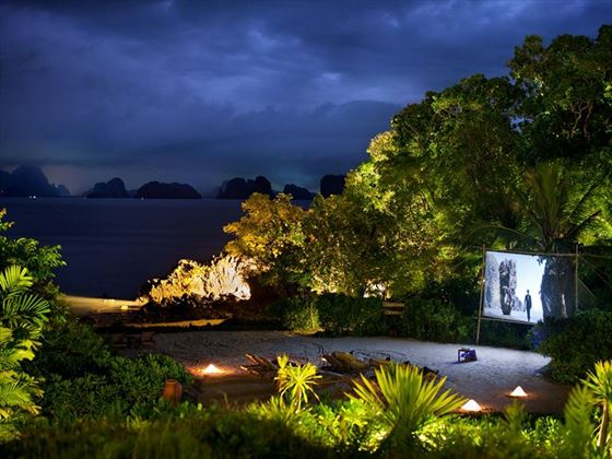 Cinema Paradiso, Outdoor Movies at Six Senses Yao Noi