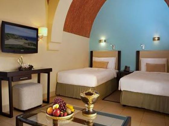 Classic Twin Room at The Cove Rotana