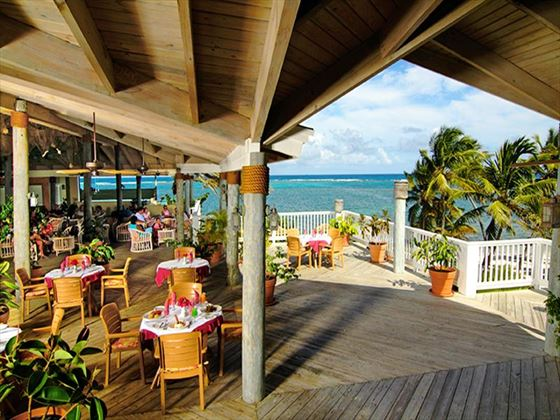 Coco Beach restaurant at St James's Club