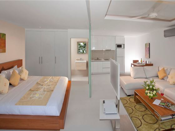 Code One-bedroom Suite interior