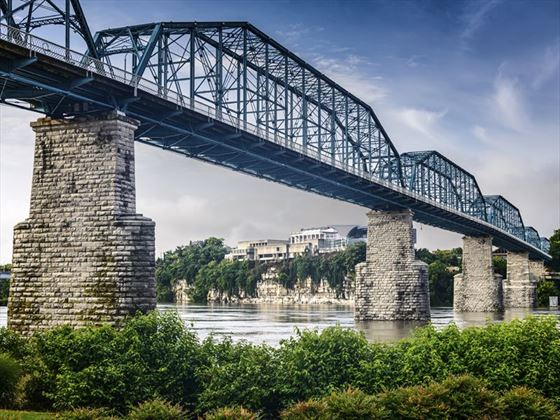 Coolidge Park and Walnut Street Bridge, Chattanooga