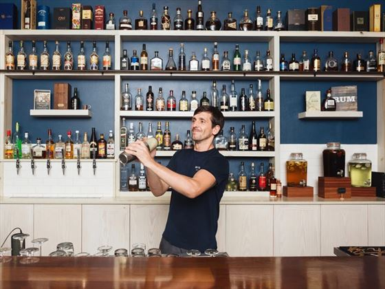 The Rum Bar at Cooper Island