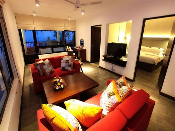 Corner Suite at Chaaya Tranz Hikkaduwa