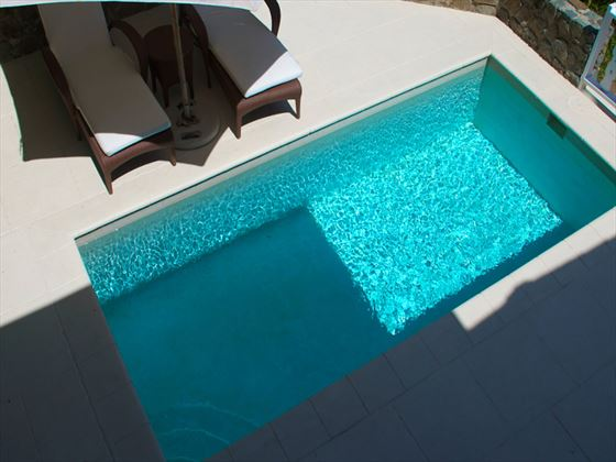 Cotton House Duplex Room private plunge pool