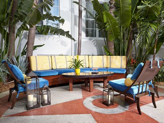Courtyard at Lord Balfour South Beach