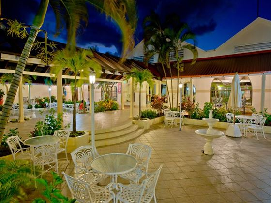Courtyard at St Lucian by Rex Resorts