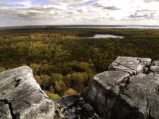 Cup & Saucer Trail, Manitoulin Island, Ontario
