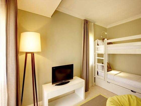 Deluxe Family Sea View kids room at Outrigger Mauritius