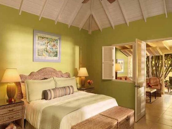 Deluxe Garden Suite at Nisbet Plantation Beach Resort