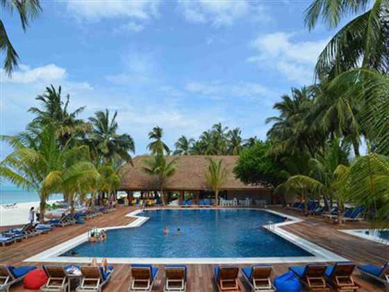Meeru Island Dhoni Bar and Pool