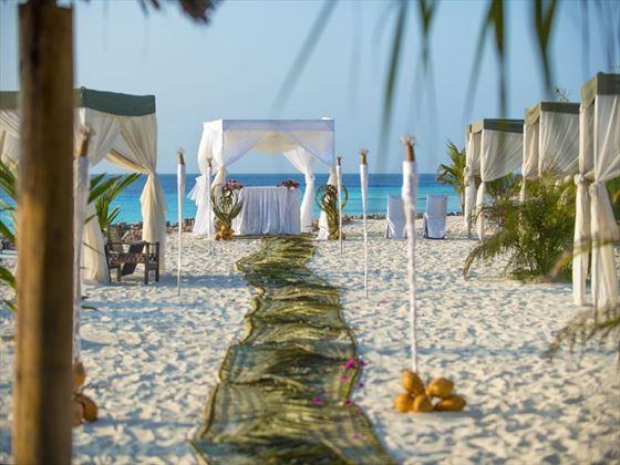 Your wedding aisle