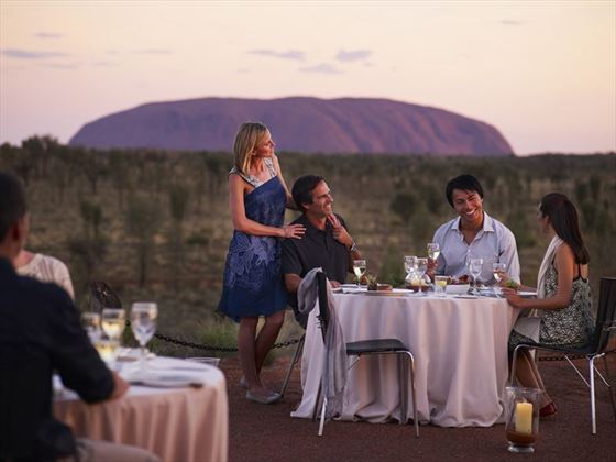 Dining in Kata Tjuta National Park