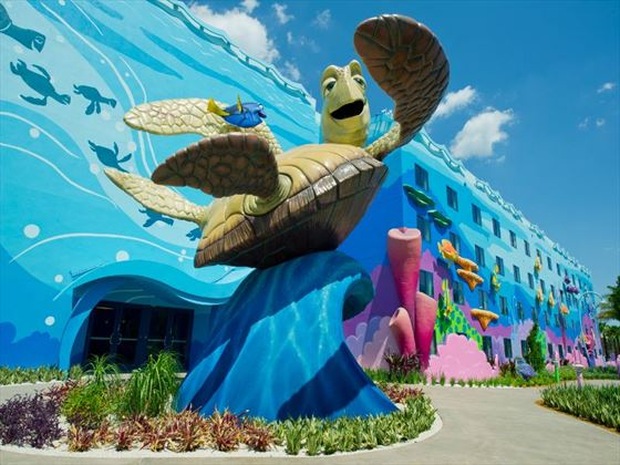 External view of Disney's Art of Animation Resort