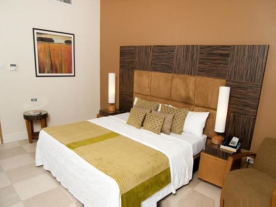 Double bedroom at Island Inn Boutique Hotel