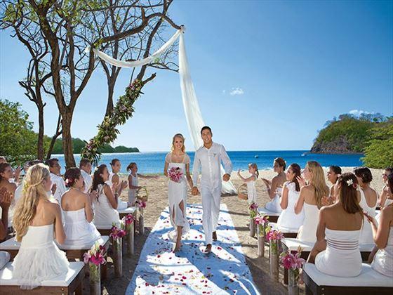 Dreams Las Mareas weddings