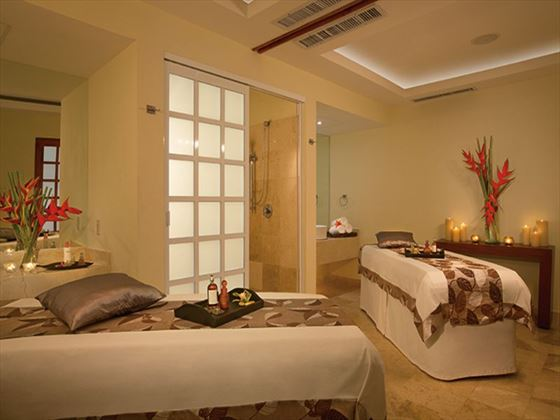 Dreams Sands Cancun spa cabin