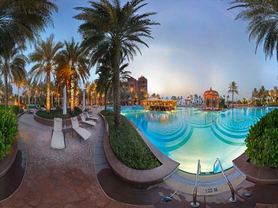 East wing pool at Emirates Palace