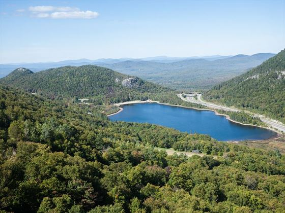 Echo Lake in Conway, New Hampshire