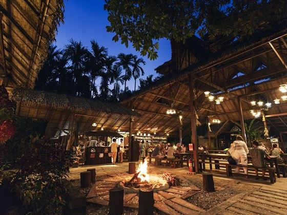 Elephant Hills - The Elephant Camp main area