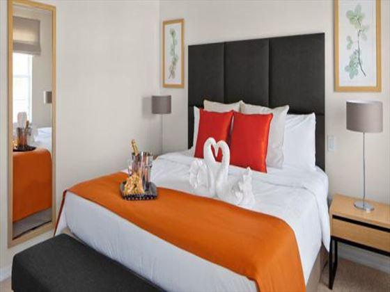 CLC Encantada typical master bedroom