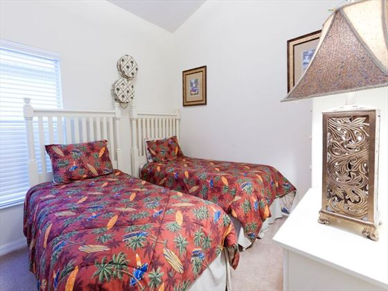 Disney Area Executive Home Twin Bedroom