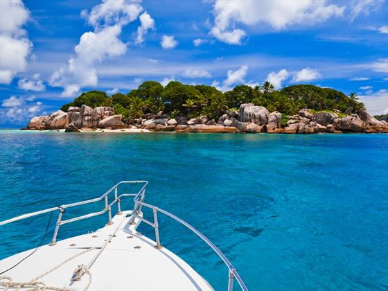 Exploring the Seychelles by boat