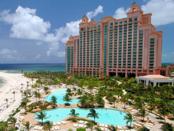 Exterior view of Atlantis The Cove