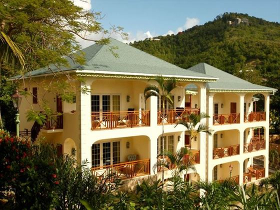 Exterior view of Bequia Beach Hotel
