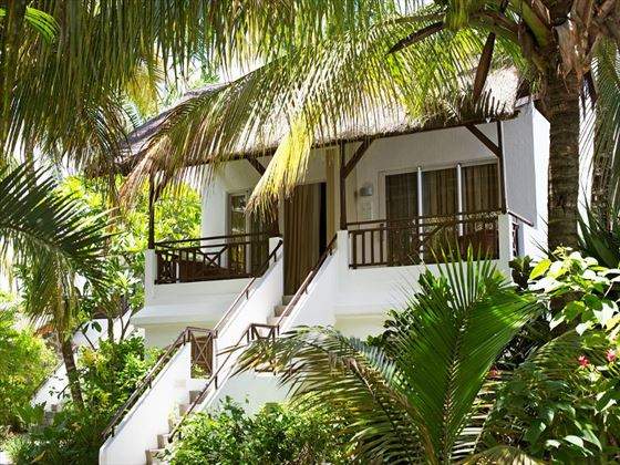 Exterior view of the bungalows at Emeraude Beach Attitude