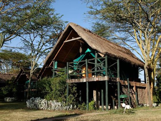 Exterior view of Sweetwaters Tented Camp