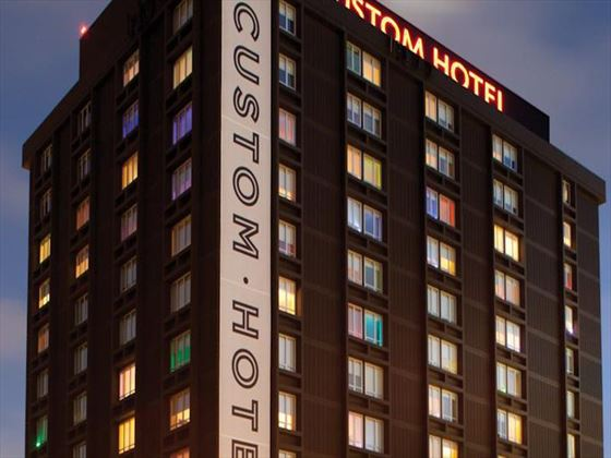 Exterior view of The Custom Hotel
