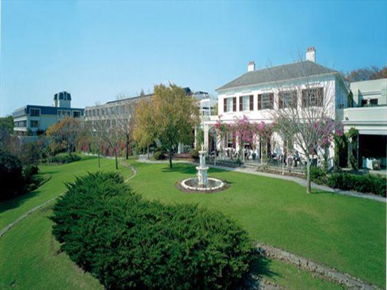 Exterior view of Vineyard Hotel