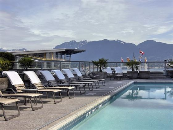 Fairmont Waterfront outdoor heated pool