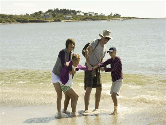 Family beach holidays at Cape Cod