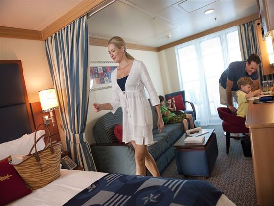Family in Stateroom