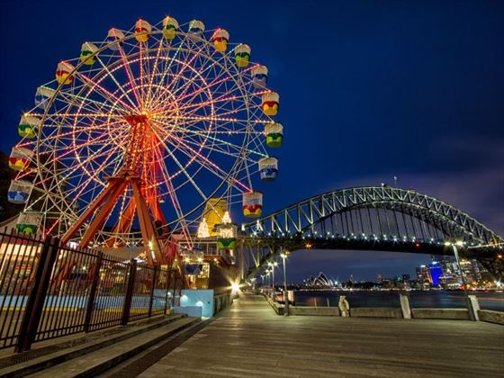 Ferris wheel at Luna Park
