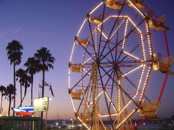Ferris wheel at Newport Beach