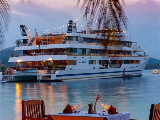 Fiji Princess at night