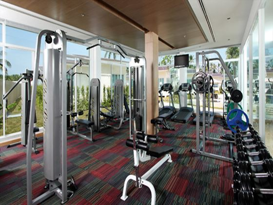 Fitness room at Kantary Beach